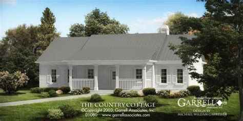 Country Cottage House Plan 01080 Country house plans