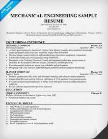 free resume sles in word format engineering resume objective statement mechanical engineers