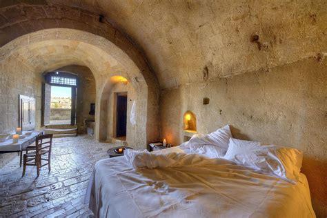 Hotel In Caves by Sextantio Le Grotte Della Civita In Matera Italy