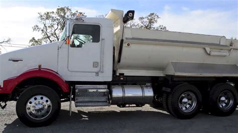 kenworth tandem dump truck 2002 kenworth t800 dump truck u2401 youtube
