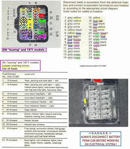 Fuse Box Diagram For 1972 - Bmw 2002 General Discussion