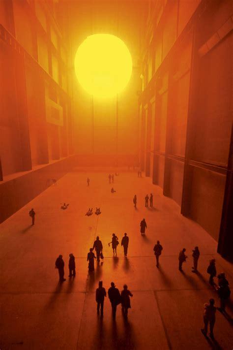 Olafur Eliasson Sun by Olafur Eliasson Weather Project Design Raum