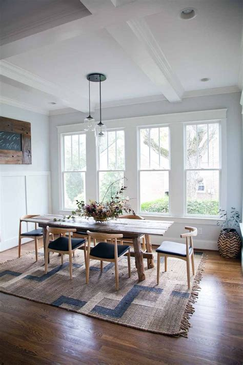 airy  orderly aesthetic  nashville dining room