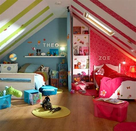 decoration de chambre pour fille  garcon visuel