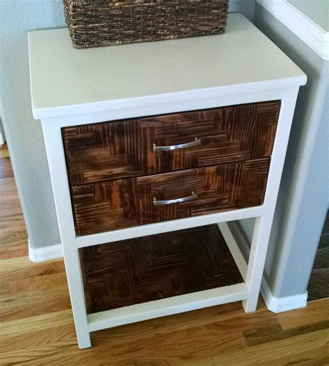ana white modified reclaimed wood console table diy