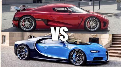 koenigsegg agera r 1140hp koenigsegg agera r vs 1500hp bugatti chiron world