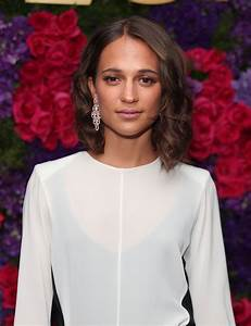Alicia Vikander - Bulgari pre-Oscar Celebration in ...