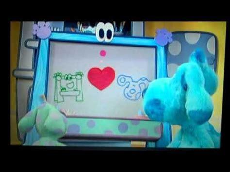 blues clues blue talks vhs  dvd trailer youtube