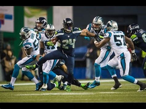 panthers  seahawks nfl divisional playoffs madden