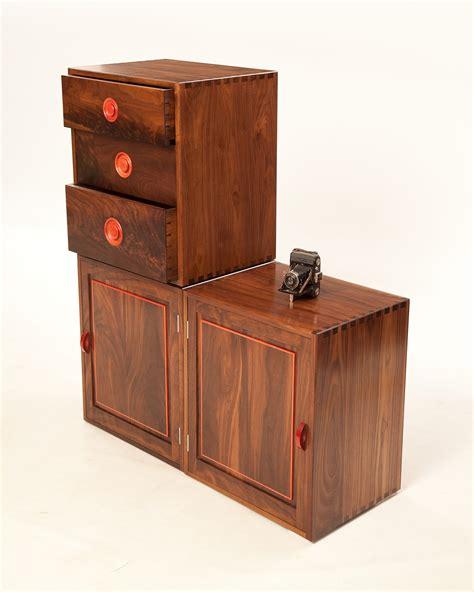 modular storage cabinets  walnut makers eye
