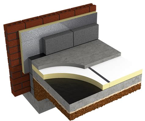 concrete floor insulation products insulating refurbished concrete clab floors