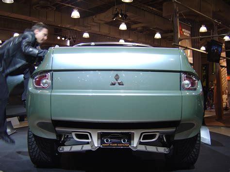 Mitsubishi Sport Truck Concept Trucks Jeeps And Suvs