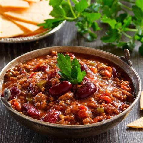recette pate de cagne traditionnel recette chili con carne facile minute