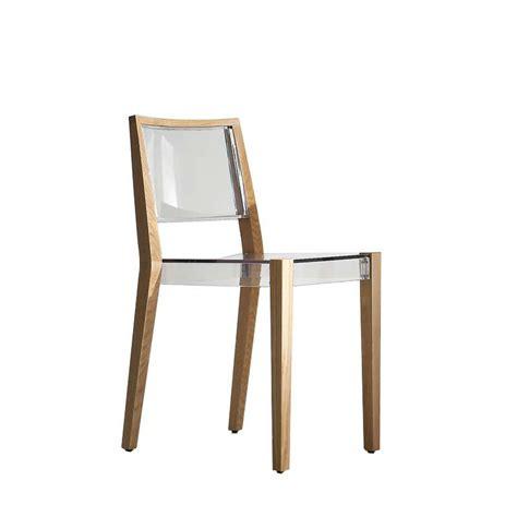 chaise bois et chiffon chaise design en plexi et bois together 4 pieds tables chaises et tabourets