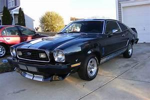 Black 1976 Ford Mustang Cobra II Hatchback - MustangAttitude.com Photo Detail