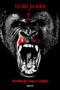 Eight promo posters for Dawn of the Planet of the Apes