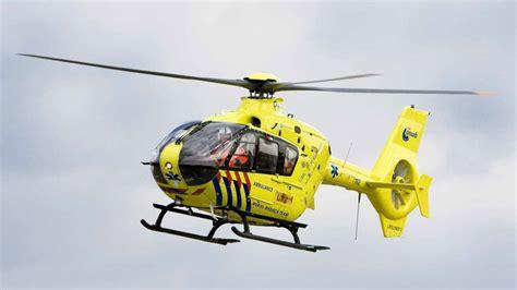 traumahelikopter naar groningen airport eelde