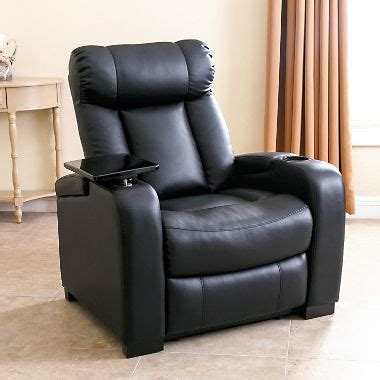 recliner chair theater larson leather reclining home theater chair sam s club