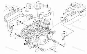 Arctic Cat Atv 2009 Oem Parts Diagram For Engine And