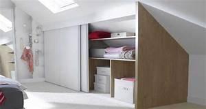 Solution Dressing Pas Cher : comment faire un dressing sous pente soi m me ~ Premium-room.com Idées de Décoration