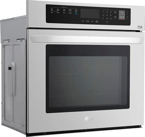 lwsst lg  single wall oven stainless steel