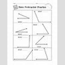Protractor Practice Worksheet By Mighty In Middle School Tpt