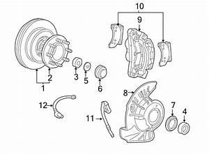 Ford F-450 Super Duty Brake Hydraulic Hose  Left  Repair  Make
