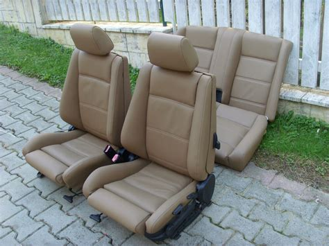 Bmw E30 Seats by Bmw 3 Series E30 Convertible Leather Seat Covers Ebay