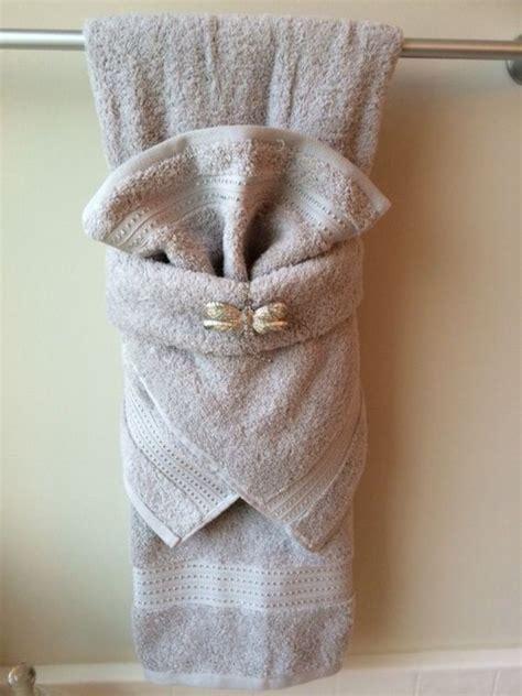 Bathroom Towels Decoration Ideas by 40 Most Creative Towel Folding Ideas Guest Room Ideas