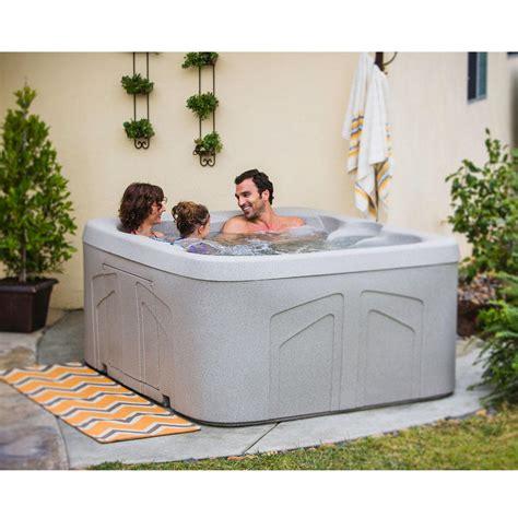lifesmart 4 person rectangular tub lifesmart bermuda dlx ls100dx 20 jet 4 person spa