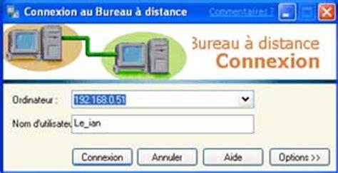 connexion bureau à distance xp test de windows xp présentation 2