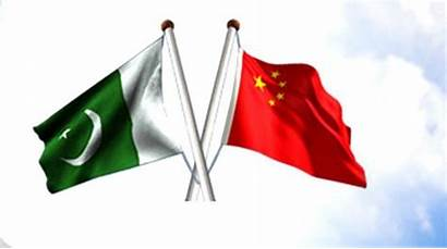 China Pakistan Trade Pak Chinese Business Flag
