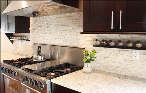 tips  decorating  kitchen  brick backsplash