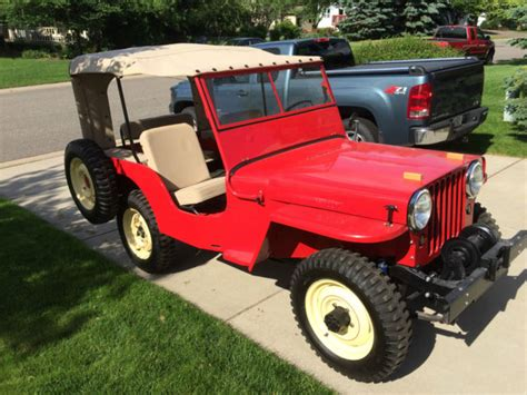willys jeep off 1946 cj2a jeep willys frame off restoration