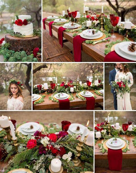 rustic winter wedding ideas  princess inspired blog
