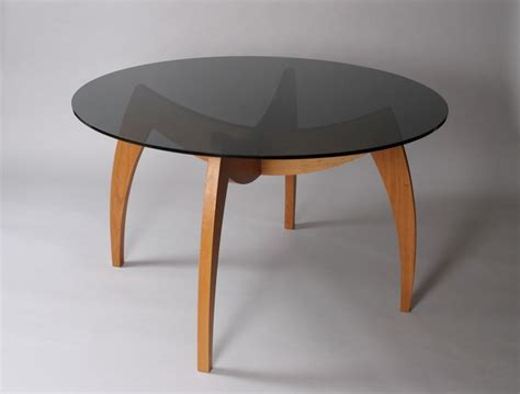 used round glass table top custom contemporary round dining table with glass top