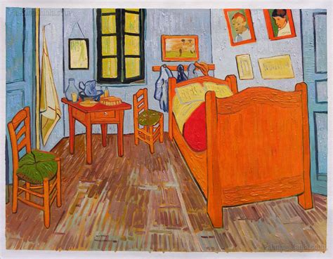 gogh bedroom painting vincent s bedroom in arles vincent gogh paintings