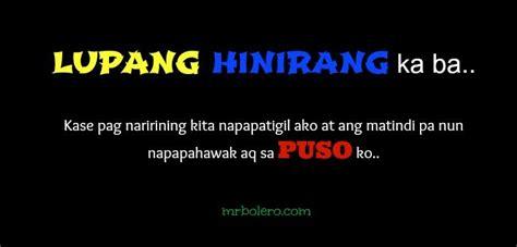 tagalog pick  lines patama quotes pinterest pick