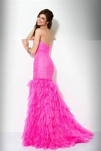 zaphon prom pink wedding With hot pink dress for wedding