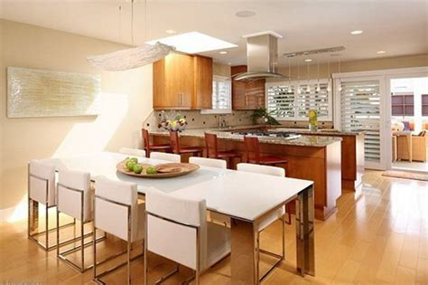 kitchen and breakfast room design ideas modern contemporary kitchen designs with dining room 4