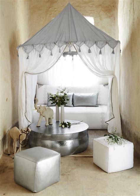 tente orientale blanche goa maisons du monde pickture