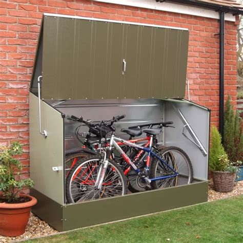 compact bike storage shed top 10 compact outdoor bike storage solutions 4betterhome