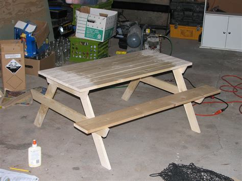 white preschool picnic table with alterations diy 447 | IMG 2733