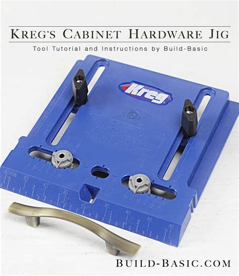 How to Use a Kreg Cabinet Hardware Jig ? Build Basic