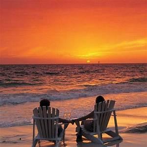Romantic sunset | Sunrise & Sunset | Pinterest