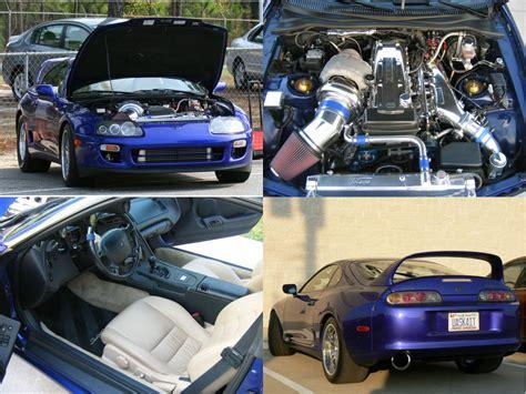 1997 Toyota Supra Turbo Dyno Sheet Details