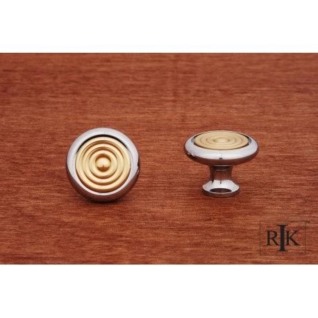 backplates for kitchen cabinets rki ck 4248 knob with riveted brass circular insert 4248