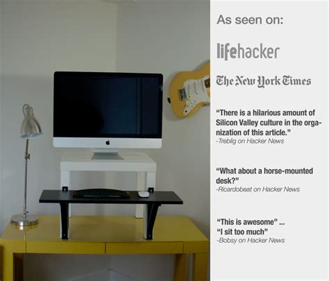 standing desk converter ikea it s a cheap solution made from ikea parts for as low as