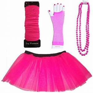 NEON UV TUTU GLOVES LEG WARMERS FANCY DRESS ALL SIZES