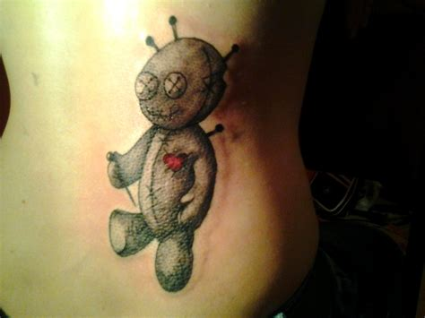 Amazing Creepy, Cute Voodoo Doll Tattoos